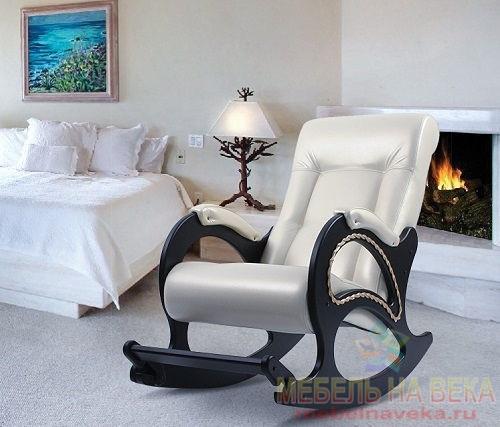 Кресло-качалка Модель 44 с подножкой
