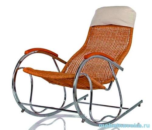 Кресло-качалка Формоза металл