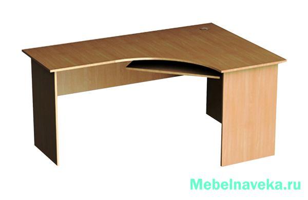 Угловой стол Эргономик СЭУП-18 правый