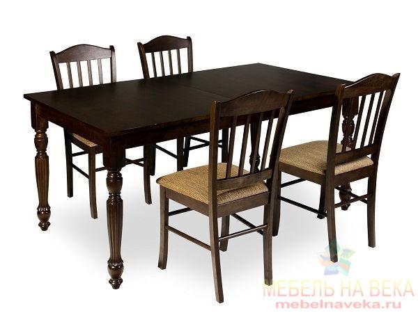 Обеденная группа стол 5990 и 4 стула ES 2004 espresso