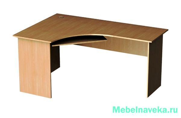 Угловой стол Эргономик СЭУЛ-19 левый