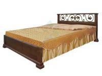 Кровать Бажена с ковкой