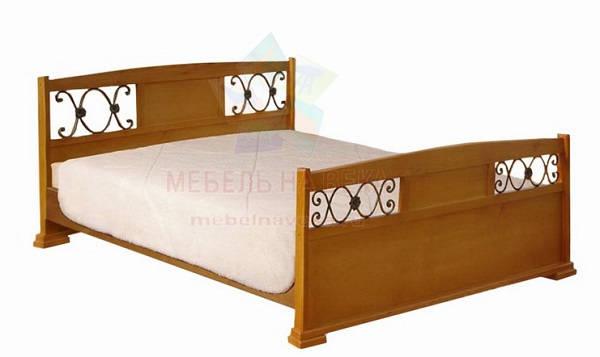 Кровать Валерия с ковкой