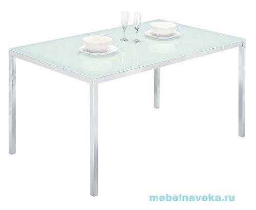 Стеклянный стол обеденный GC 0327 (белый или черный)