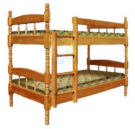 Кровать Скаут-2 двухъярусная
