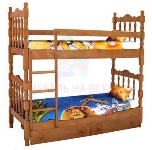 Двухъярусная кровать Шрек-2