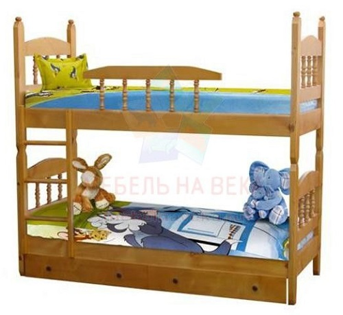 Кровать Шрек-3 двухъярустная