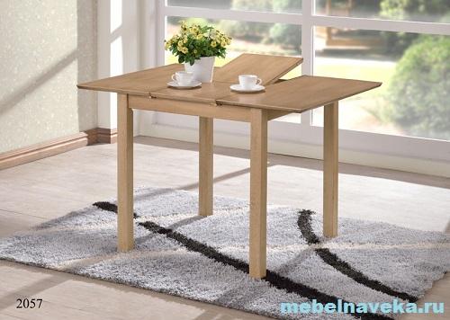 Обеденный стол 2057 (Дуб антик белый)