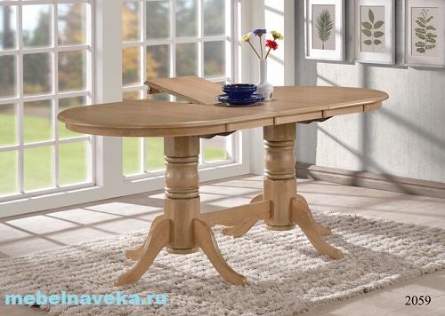 Обеденный стол из дуба