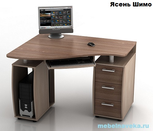 Угловой компьютерный стол КС-12У Ибис