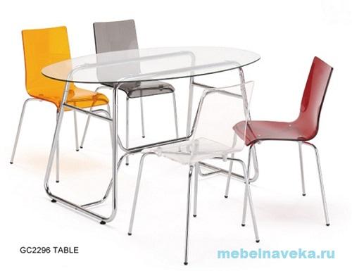 Стеклянный стол обеденный GC 2296