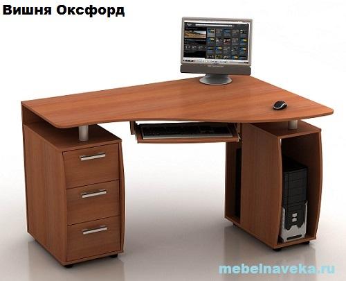 Компьютерный стол КС-14У Ибис угловой