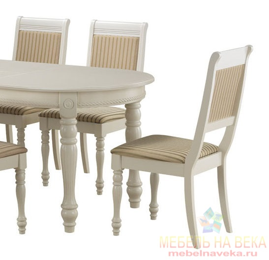 Обеденная группа CH-T6EX и 6 стульев CH-SC white