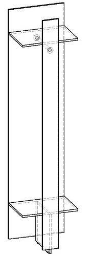 Прихожая 1 модуль Респект МП.001.500-00